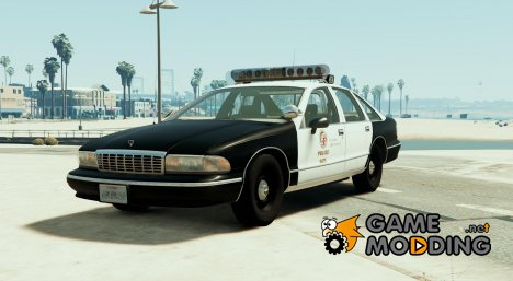 1994 Chevrolet Caprice 9C1 - Los Angeles Police Department for GTA 5