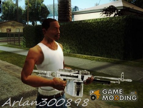 Weapons from Far Cry 3 для GTA San Andreas