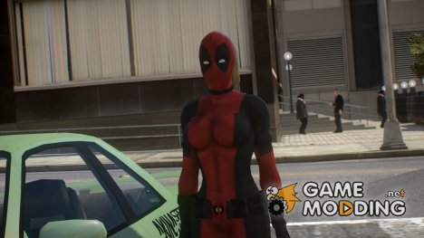 Lady DeadPool [PED] for GTA 4