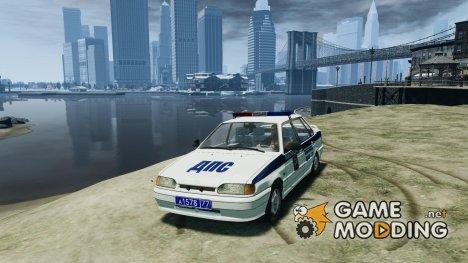 ВАЗ 2115 ДПС for GTA 4
