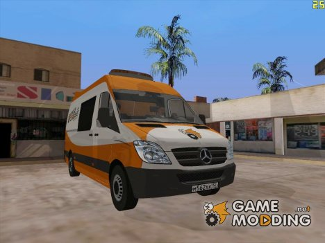 Бус Gamemodding Sprinter for GTA San Andreas