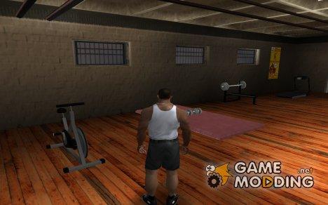 Новые тренажёры и гантели из GTA SA Mobile для GTA San Andreas