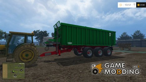 Kroeger Agroliner TAW 30 v1.0 for Farming Simulator 2015
