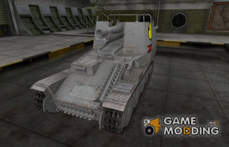 Мультяшный скин для Grille для World of Tanks