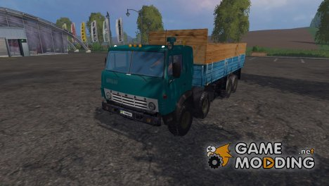 КамАЗ 6350 для Farming Simulator 2015