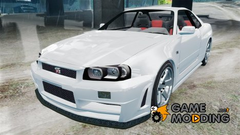 Nissan Skyline R34 GT-R Z-tune for GTA 4