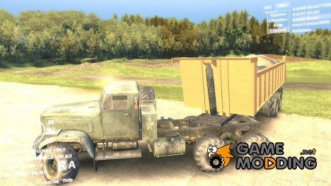 НефАЗ 9509 for Spintires DEMO 2013