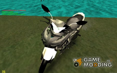 Yamaha Exciter 150cc Camo Edition for GTA San Andreas