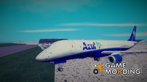 Embraer ERJ-190 Azul Brazilian Airlines (PR-ZUL) for GTA 3