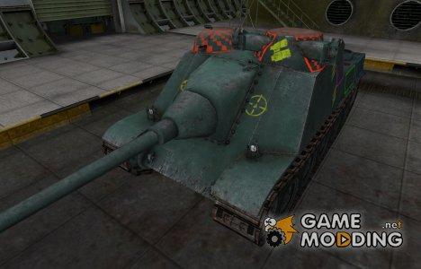 Контурные зоны пробития AMX AC Mle. 1946 для World of Tanks