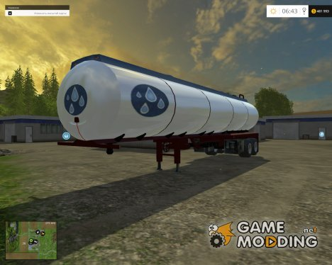 Water trailer v 1.0 for Farming Simulator 2015