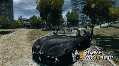 Alfa Romeo 8C Competizione Spider v1.0 для GTA 4