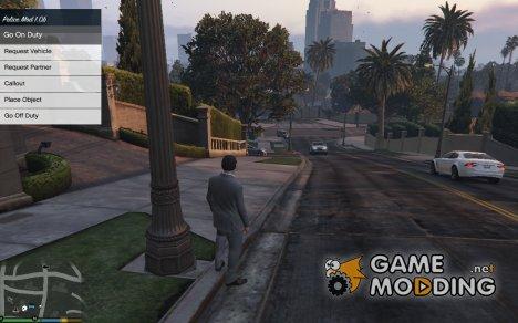 Полицейская модификация для GTA 5