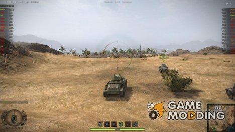Мод боевого интерфейса for World of Tanks