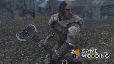 Werewolf Battleaxe for TES V Skyrim