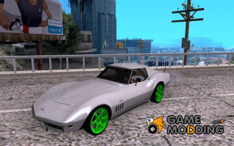 Chevrolet Corvette Stingray Monster Energy для GTA San Andreas