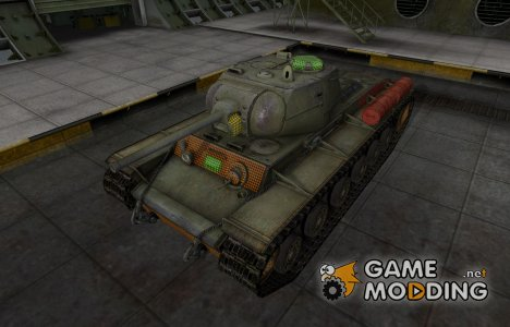 Зона пробития КВ-1С для World of Tanks