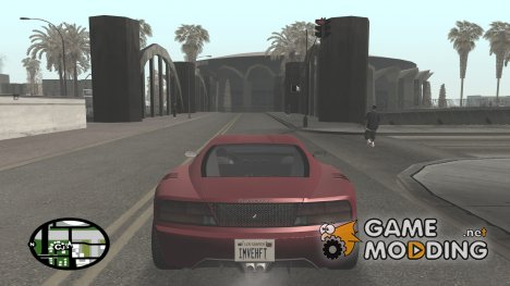 GTA V HD Radar Icons for GTA San Andreas