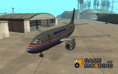 Boeing 737-500 for GTA San Andreas