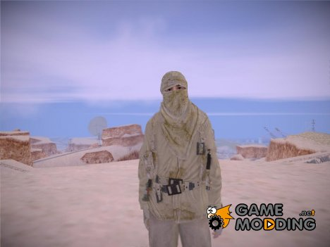 MW2 Arabian Sniper Desert v2 for GTA San Andreas