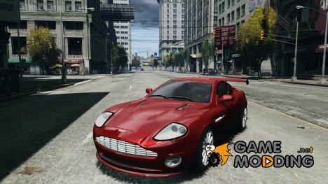 Aston Martin Vanquish S v2.0 с тонировкой для GTA 4
