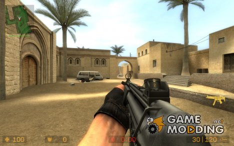 MP5 Animations. для Counter-Strike Source