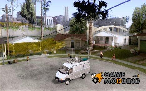 Газель 2705 Новости Первого Канала for GTA San Andreas