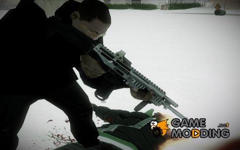Bushmaster ACR Silver for GTA San Andreas