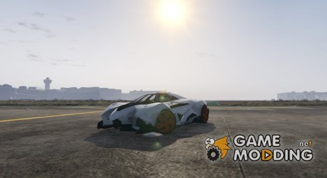 Lamborghini Egoista 1.2 for GTA 5