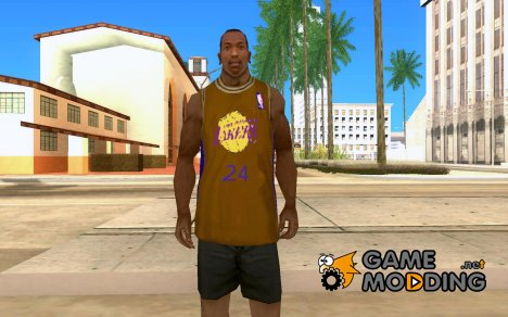 Форма БК Los Angeles Lakers для GTA San Andreas