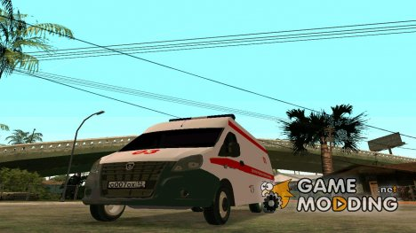 Газель Next Скорая Помощь for GTA San Andreas