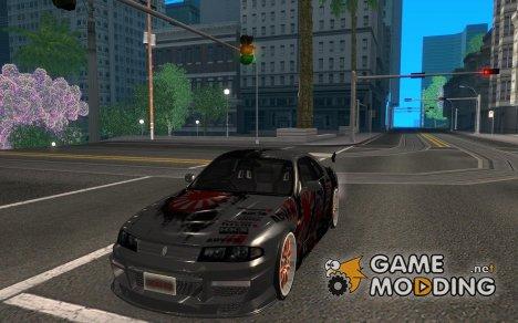 Nissan Skyline r33 for GTA San Andreas