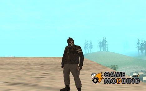 Skin GTA Online (Heists) для GTA San Andreas