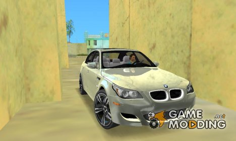 "BMW M5 E60 ""TT Black Revel"" for GTA Vice City"