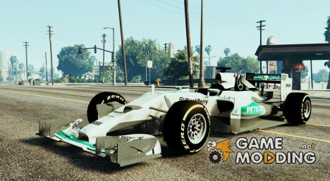 Mercedes W06 F1 HQ for GTA 5