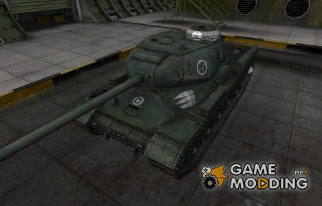 Зоны пробития контурные для WZ-131 для World of Tanks