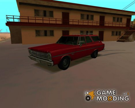 Plymouth Belvedere Wagon 1965 for GTA San Andreas