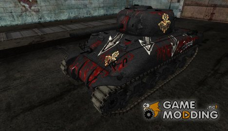 Шкурка для M4 Sherman Demonic для World of Tanks