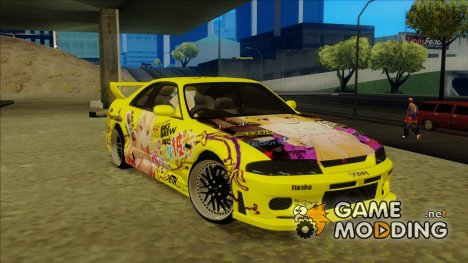 Nissan Skyline R33 - Sakurasou no Pet na Kanojo Itasha for GTA San Andreas