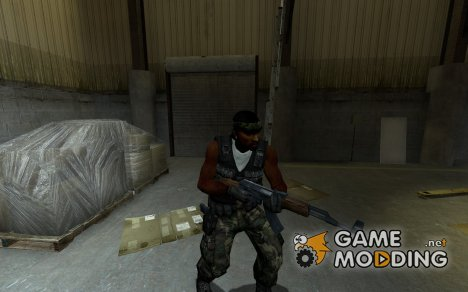 African Rebel Guerilla for Counter-Strike Source