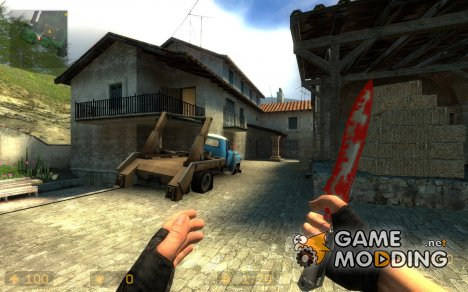 Blood Knife для Counter-Strike Source