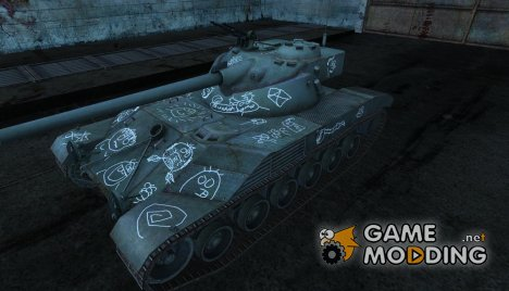 Шкурка для Bat Chatillon 25 t №13 for World of Tanks