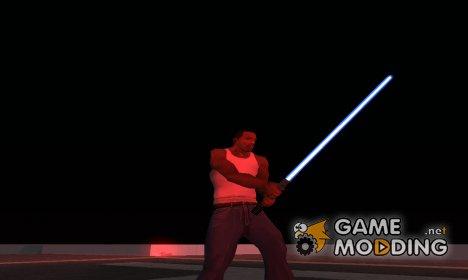 Световой меч Энакина Скайуокера для GTA San Andreas