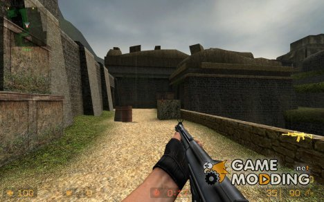 Fallschirmjager's G3A3 For Galil для Counter-Strike Source
