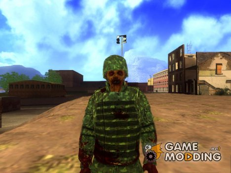 Zombie Soldier (State of Decay) for GTA San Andreas