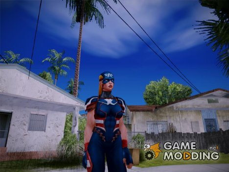 Marvel Future Fight - Captain America (2099) для GTA San Andreas
