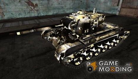 M26 Pershing No0481 for World of Tanks
