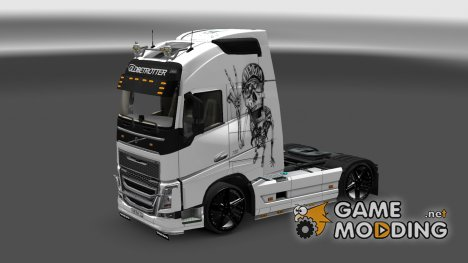 Skeletons By Sasha Skin for Euro Truck Simulator 2