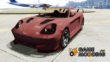 Toyota MR-S v1.1 для GTA 4