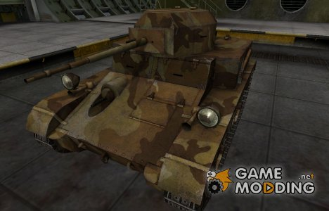 Шкурка для американского танка T2 Light Tank для World of Tanks